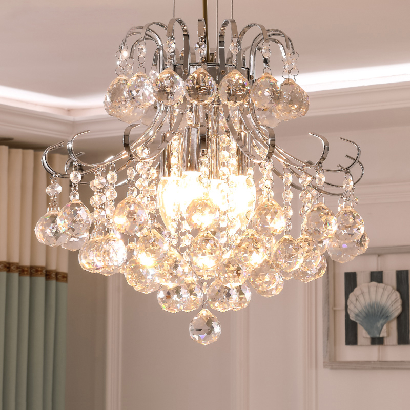 2019 Luxury Crystal Chandelier Living Room Lamp crystal chandeliers indoor Lights Crystal Pendants For Chandeliers Free