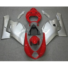 Red Silver ABS Plastic Fairing Bodywork For MV AGUSTA F4 750 1000 00-09 1B