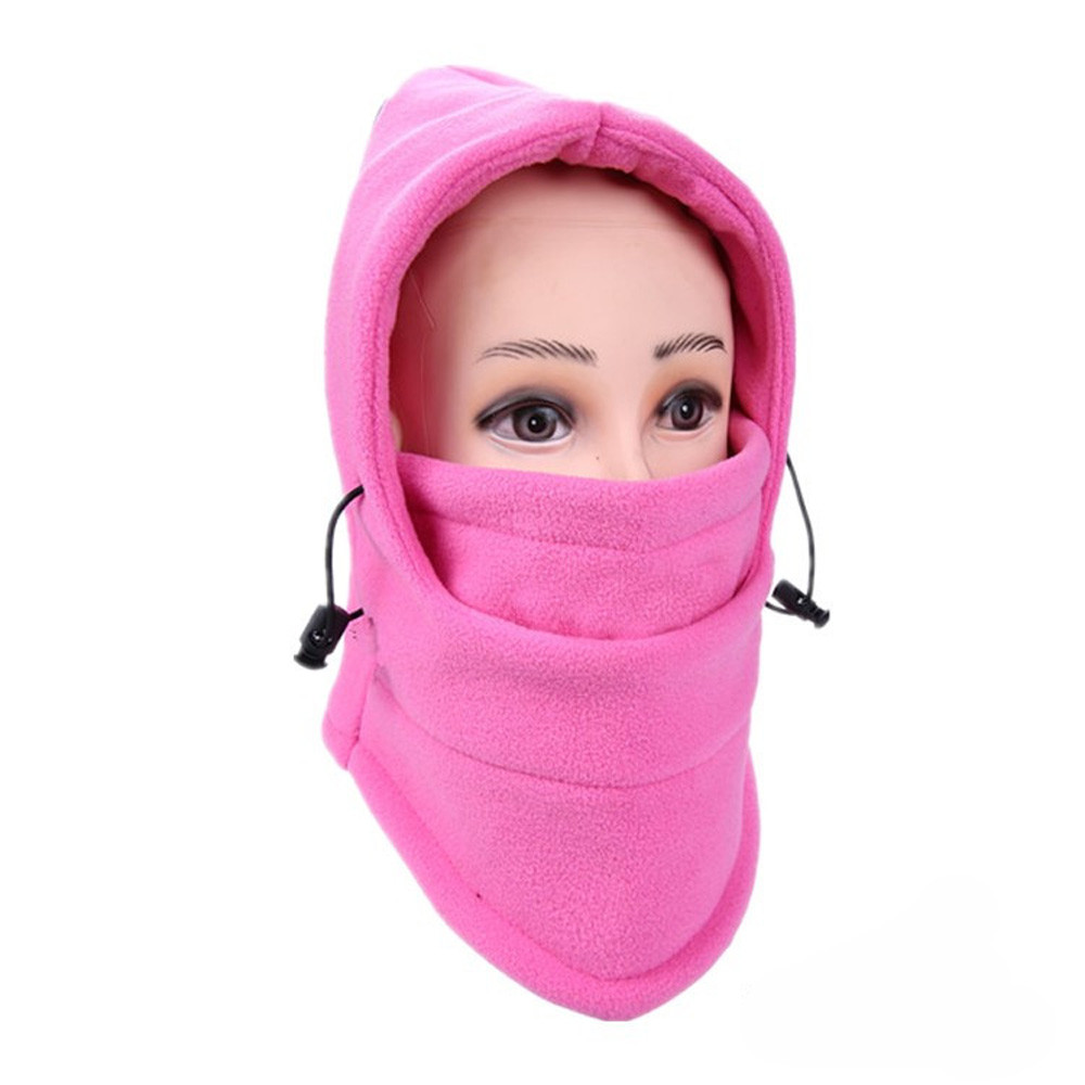 Новинка, 6 в 1, уличные Лыжные маски, велосипедные лыжные шапочки, зимние шапки с защитой от ветра# NE920 - Цвет: K
