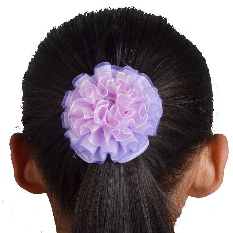 12pcs fashion kids hairbands flower