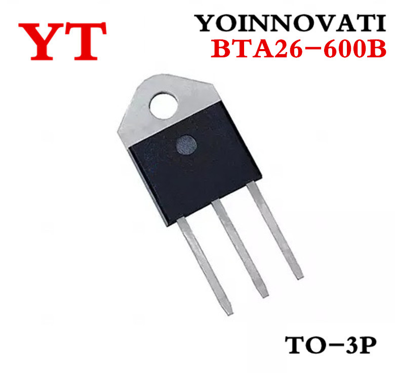 Free shipping 100pcs lot BTA26 600B BTA26 600 600V 25A TOP3 IC Best quality