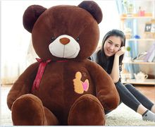 huge plush high quality bear toy large brown teddy bear doll gift about 160cm175