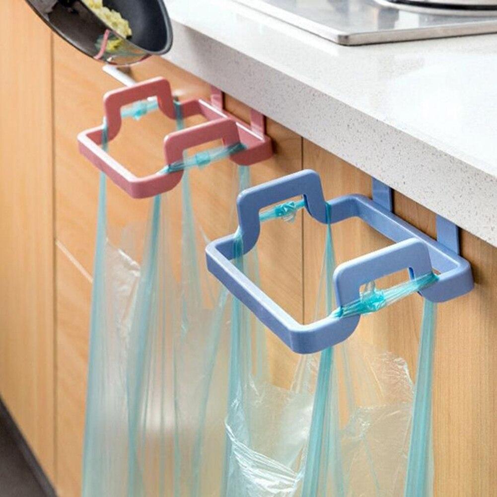 1pc Rubbish Bag Holder Practical Kitchen Trash Garbage Bag