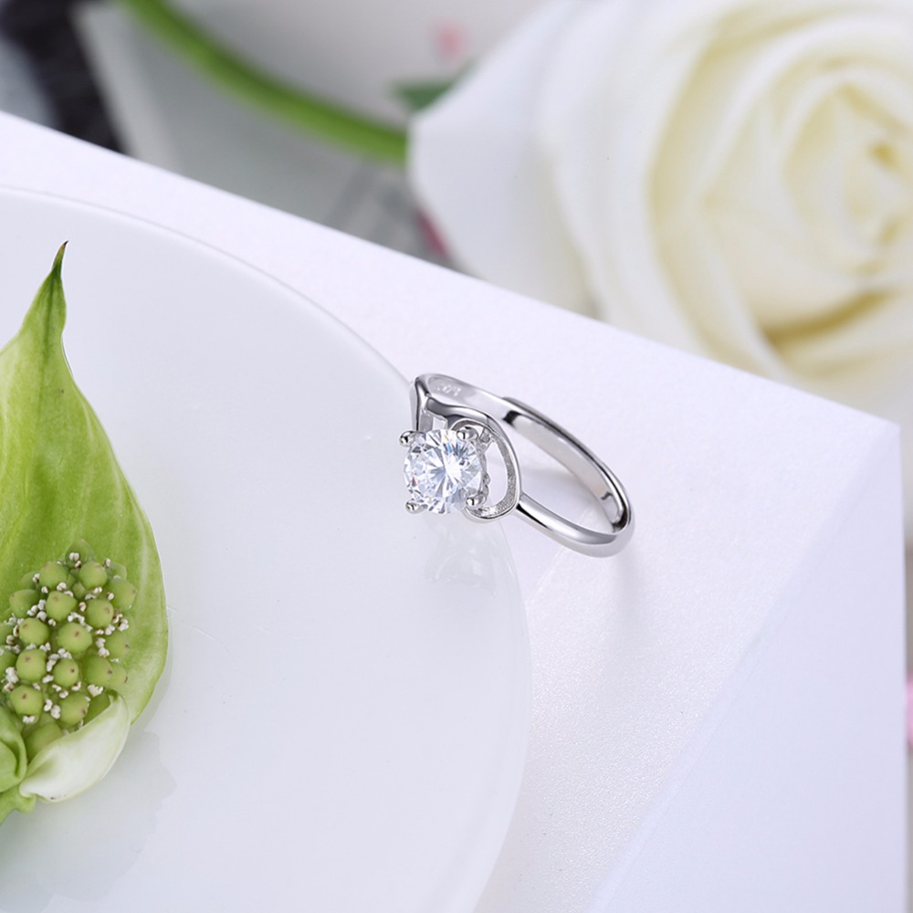 High-end series of standard 925 sterling silver jewelry for sweet romantic girl shopping dating is not allergic deformation