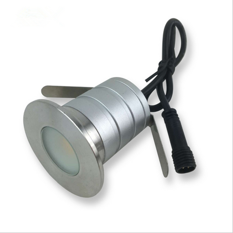 Obliging Free Shipping 18 Pcs/lot Waterproof Ip67 Dc12v 3w Outdoor Led Underground Light Garden Path Ground Floor Garden Light Volume Large Led Underground Lamps