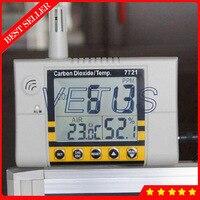 Az 7721 стены углекислый газ детектор монитор качество воздуха в помещении монитор с Диапазон измерения 0 до 9999 стр./мин