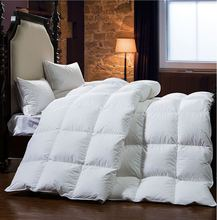 The most warm and comfortable Three colors winter Warm silky 100% Goose down comforter king queen full twin size quilts