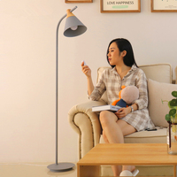 Nordic современные светодиодные торшер минималистский декоративные торшеры Регулируемая абажур постоянный свет для Гостиная Спальня дома