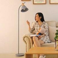 Nordic современные светодио дный Светодиодные Торшер минималистский декоративные торшеры Регулируемый абажур напольный светильник для гост