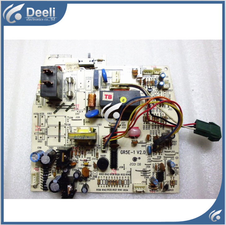 95% new good working for air conditioner pc board circuit board GR5E-1 V2.0 motherboard on sale 95% new for haier refrigerator computer board circuit board bcd 198k 0064000619 driver board good working