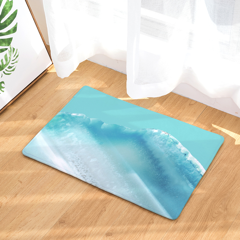2017 hot sale New Anti- Slip Welcome Floor Mats Cute sky Hallway Kitchen Rug Decoration Stair Carpets Light Thin Crafts Rugs
