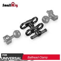 SmallRig Dual DSLR Camera Ballhead Extension Bar Rig DIY Camera Rig for Magic Arm Monitor Support 2134