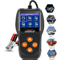 Professional Car Battery Tester Diagnostic Tool 12V 100 to 2000CCA 12 Volt Battery tools for the car Quick Cranking Charging