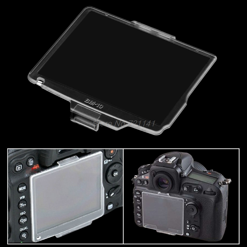 Hard LCD Monitor Cover Screen Protector For D90 BM-10 Camera Accessories Electronics Stocks