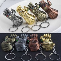 Marvel Avengers Infinity War Thanos Glove Gauntlet Keychain (4 colors) 5