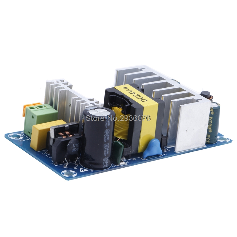 Power Supply Module AC 110v 220v to DC <font><b>24V</b></font> 6A AC-DC Switching Power Supply Board image