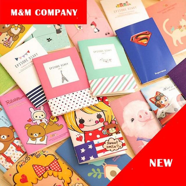4 Pcslot Petit Prince Notebook Better Life Diary Mini Memo Book A6