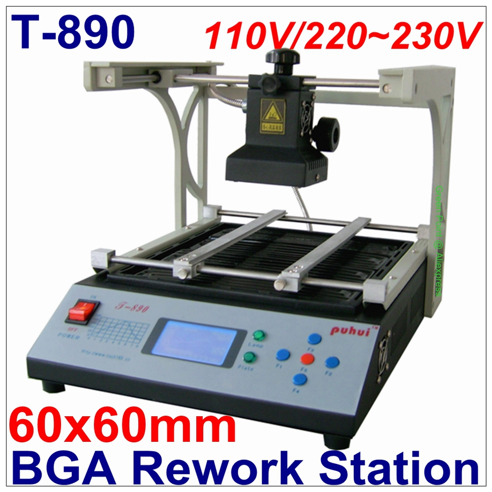 In Stock PUHUI BGA IRDA Welder Infrared Rework Station T 890 Soldering Welder T890 SMT SMD