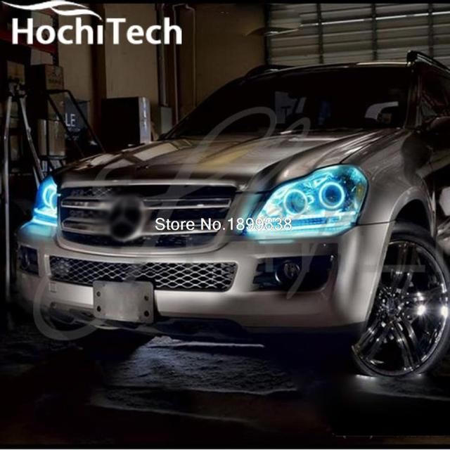 For Mercedes Benz Gl Class X164 Gl450 Rgb Led Headlight