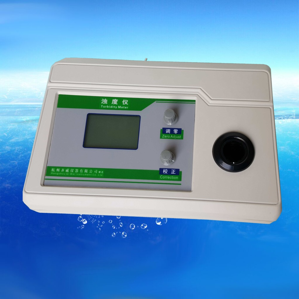 Desktop Electronic turbidity meter Concentration Meter Montior Measurement range: 0-20NTU Minimum value 0.01NTU