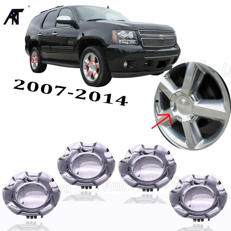4pcs Chevy Silverado 1500 Tahoe 2007 2013 Wheel Center hub Caps 9596343