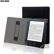 Doğal Keten Kindle 4 Için 5 6 7 8 Dokunmatik Paperwhite eReader Kenevir Kapak Koruyucu Kılıf kılıfı Keten Kılıfı el tutucu ile