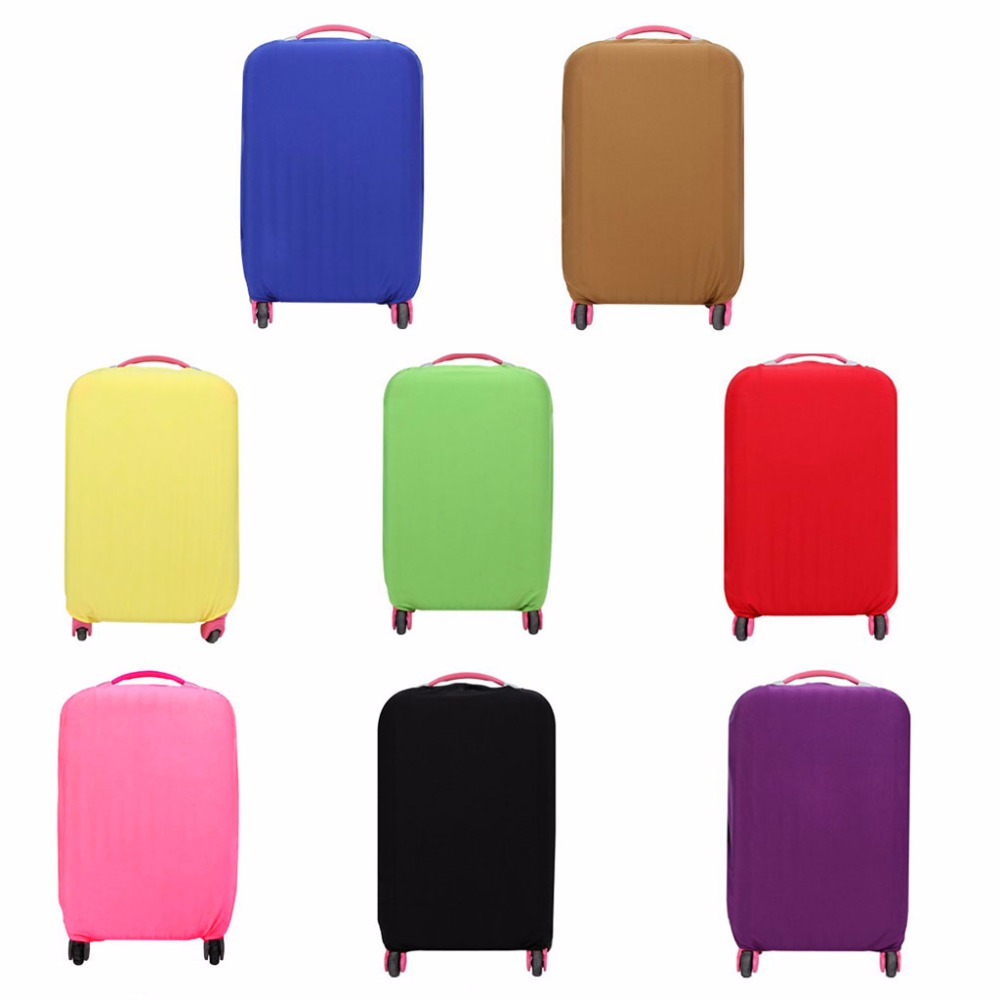 THINKTHENDO Practical Elastic Luggage Suitcase Cover Protective Bag Protector Dustproof Case