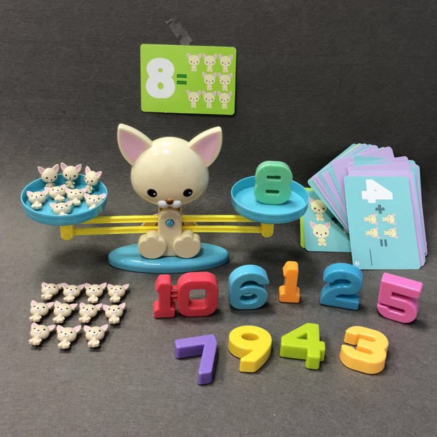 Number Balance Math Games Montessori Toys For Kids 3 Year