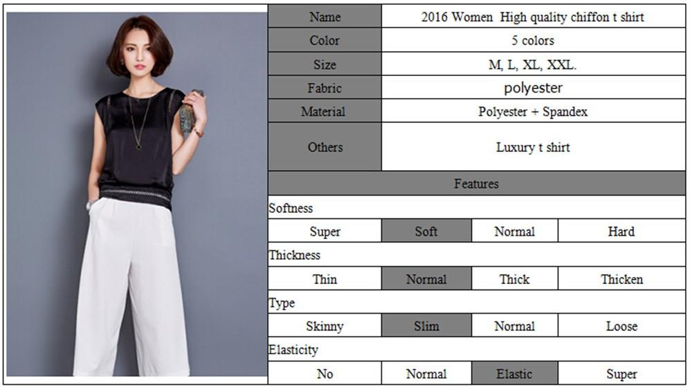 Big Size M-3XL Luxury Chiffon Tank Top For Women Summer Fashion Crop Tops Women\'s Sleeveless Tank Vest Tops Lady Sexy Camis (121)