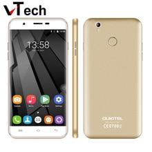 "Оригинальный Новый OUKITEL U7 плюс Android 6.0 5.5 ""MTK6737 Quad Core 2 ГБ RAM 16 ГБ ROM 13 МП 2500 мАч отпечатков пальцев 4 Г LTE Mobile телефон"