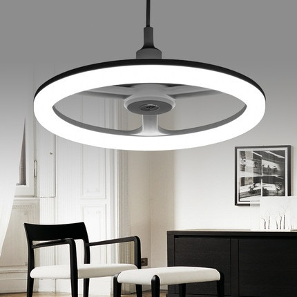 Fashion Modern Ring Shape Acrylic Droplight LED Pendant Light Fixtures For Dining Room Art Hanging Lamp Indoor Lighting 40cm acrylic round hanging modern led pendant light lamp for dining living room lighting lustres de sala teto