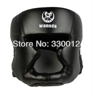 Prix pour Livraison gratuite ROUGE/NOIR Fermé type de boxe tête garde/casque Sparring/MMA/Muay Thai kickboxing accolade/protection de la tête