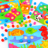 Montessori Educational Toys Color Cognition Board For Children Wooden Toy Jigsaw Early Learning Color Match Game Brinquedos discount