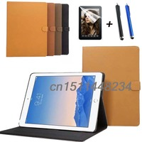 Hot Sale Luxury Retro PU Leather Case Cover For Ipad Pro 12 9 Smart Cover Stand