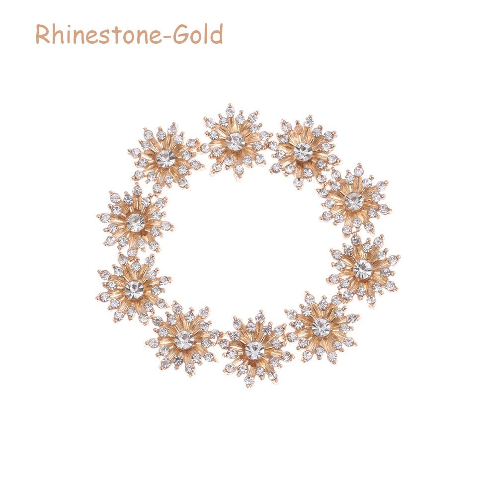 Rhinestone -Gold