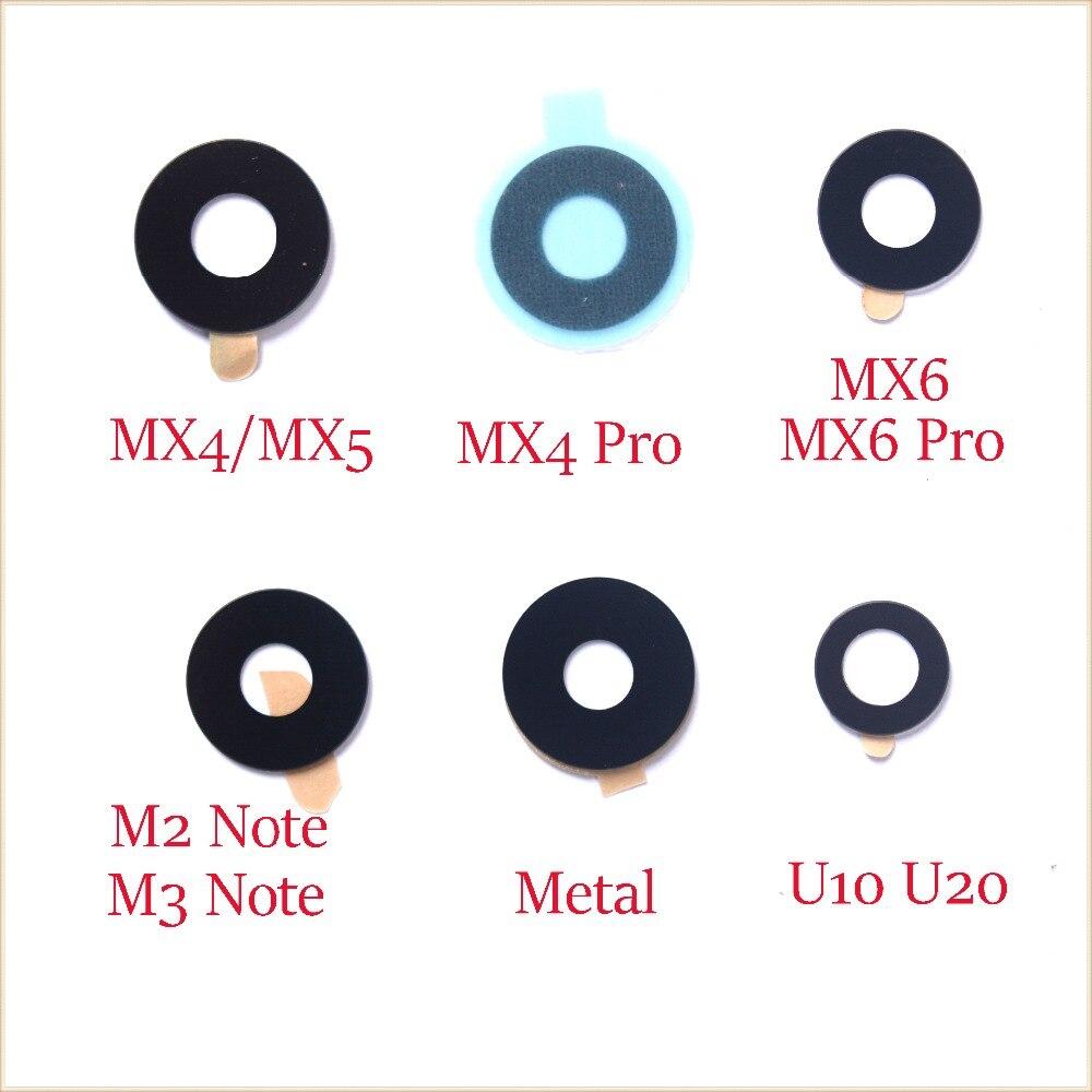 2x Glass Back Rear Camera Lens For Meizu MX3 MX4 MX5 MX6 Pro Pro6 6S Pro7 Plus M1 M2 M3 M3S M5C M5 M5S M15 M6 Note M3E E3 E2