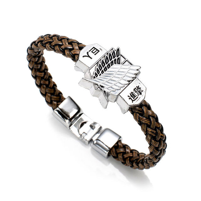 One Piece & Attack on Titan & Tokyo Ghoul & Others Woven Bracelet