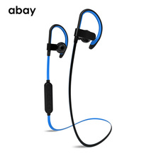 Bluetooth Wireless Earphone with Mic Waterproof IPX6 super Bass headphones Headset HD Sound Hifi Stereo Earbuds for Mobile phone 2017 super bass hifi stereo sound wireless bluetooth headset sport headphone with mic phone earphone for iphone xiaomi samsung