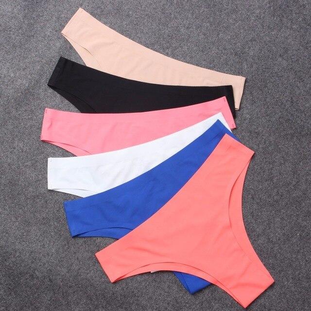 8bf69ffc92092 Autumn Women s Panties Brazilian Cut Thongs Seamless Underwear For Women  Sexy Lingerie G-String G String Tanga cueca
