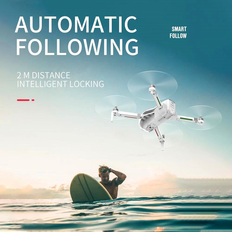 GPS Brushless Motor RC Drone With WIFI FPV 5G 4K Ultra Clear Camera Foldable Quadcopter Aerial Video RC Quadcopter Aircraft Toys in Camera Drones from Consumer Electronics