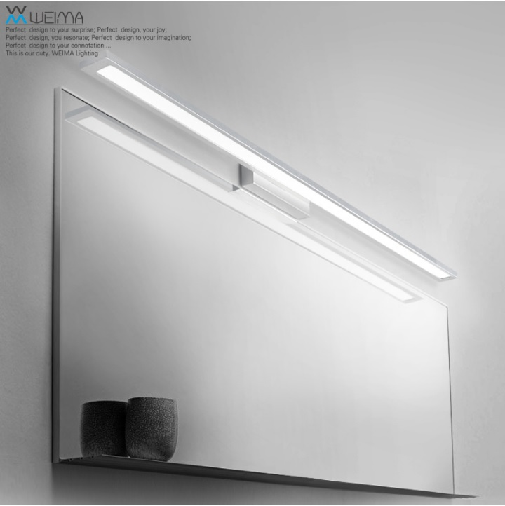 Bathroom Vanity Lighting Fixture, 8W 18W Bath Bar Lights, Simple Sleek And  Elegant Luminary In LED Indoor Wall Lamps From Lights U0026 Lighting On ...