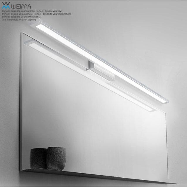 Online shop bathroom vanity lighting fixture 8w 18w bath bar bathroom vanity lighting fixture 8w 18w bath bar lights simple sleek and elegant luminary aloadofball Gallery