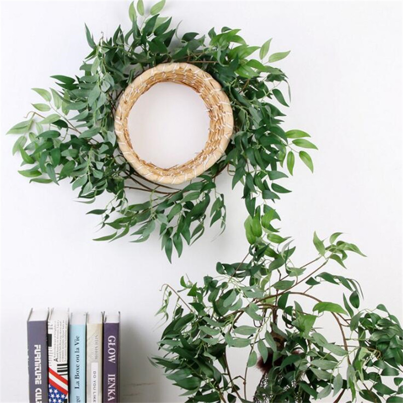 Artificial Willow Vine Faux Leaves For Home Christmas