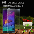Prêmio de vidro temperado protetor de tela para samsung galaxy note 3 protetor de vidro temperado para samsung note 3 anti-shatter film