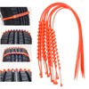 10Pcs Set Anti Skid Car Wheel Tire Chains Automobiles Tyre Snow Chains Auto Care Winter Driving