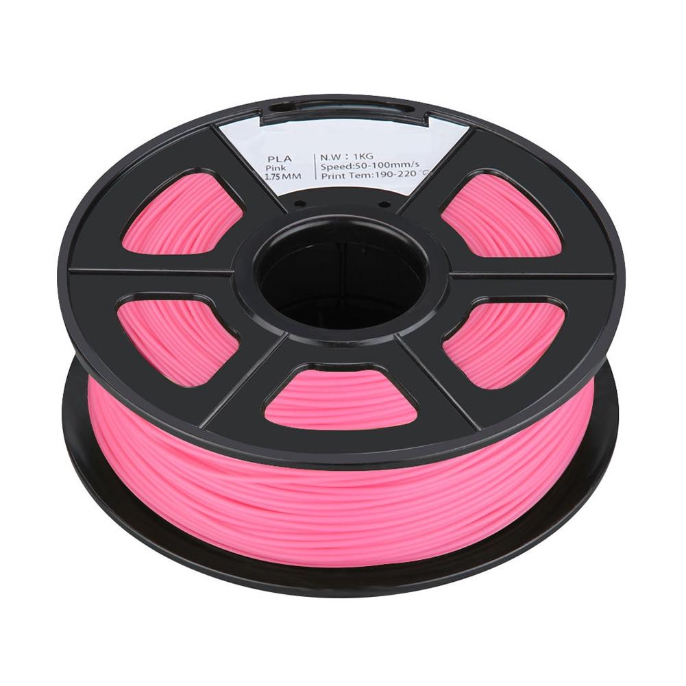 PLA 1KG 1.75mm Repraper 3D Printer Filament Bundle for Reprap Mendel PINK 3d printer filament 1kg 2 2lb 3mm pla plastic for mendel green