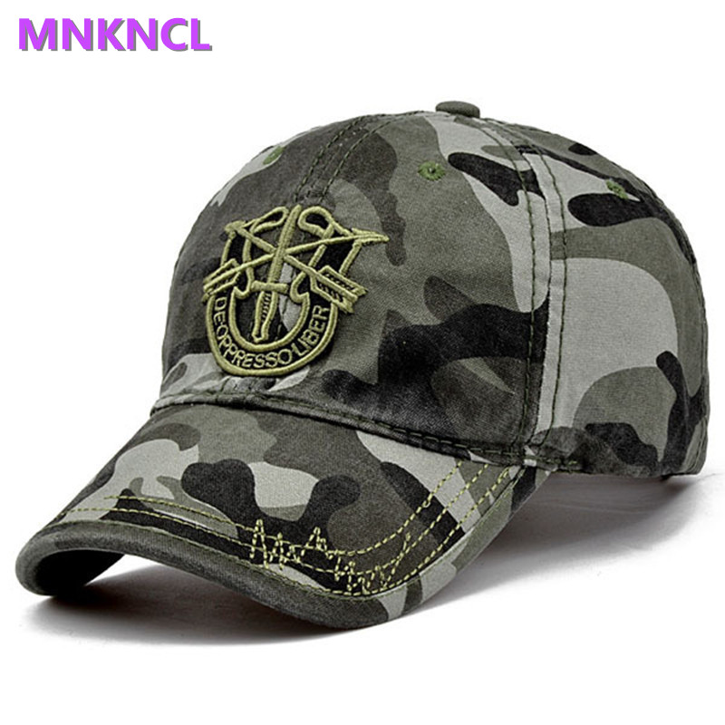 2017 New Brand Fashion Army Camo Baseball Cap Men Women Tactical Sun Hat Letter Adjustable Camouflage Casual Snapback Cap new 2017 watch dogs aiden pearce black baseball cap sun hat cosplay adjustable strap snapback cap men