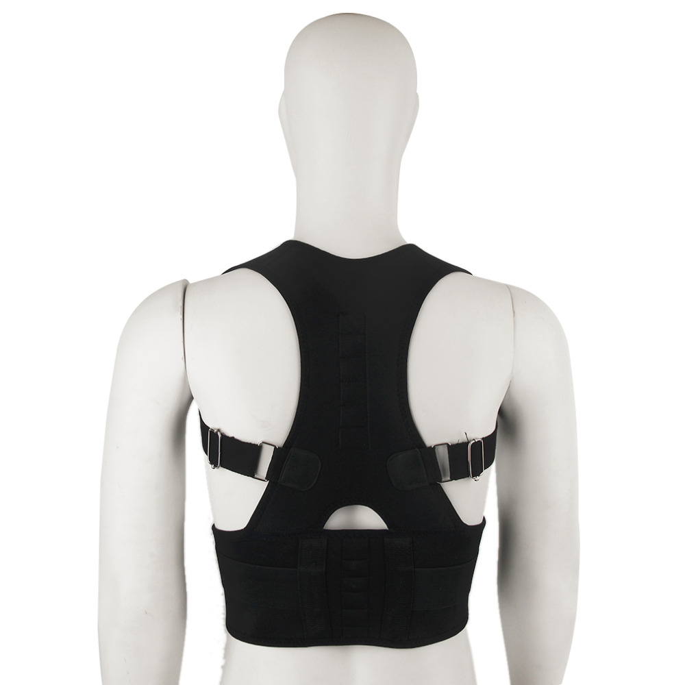 New Magnet Posture Corrector Braces&Support Body Corset Back Belt Brace Shoulder for Men Care Health Adjustable Posture Band