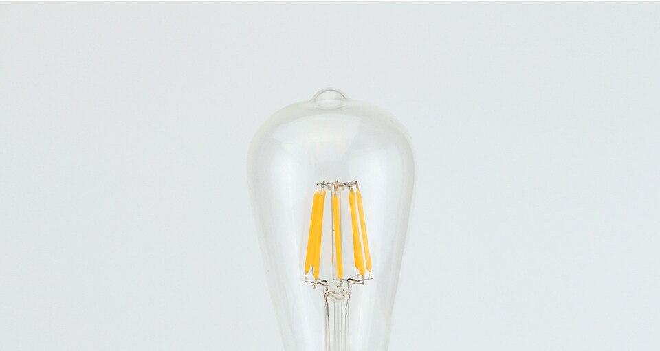 Ynl edison lâmpada incandescente e27 lâmpada de