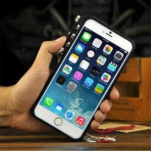 Image 4 - Funda de aluminio para iPhone 7, 8 Plus, iPhone x, xs, max, edición táctica